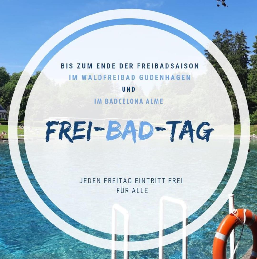 Frei Bad Tag in Gudenhagen und Alme