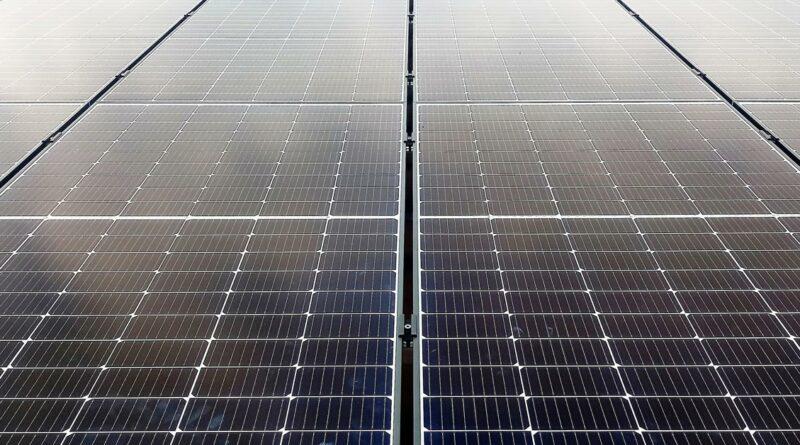 Moderne Photovoltaik Module