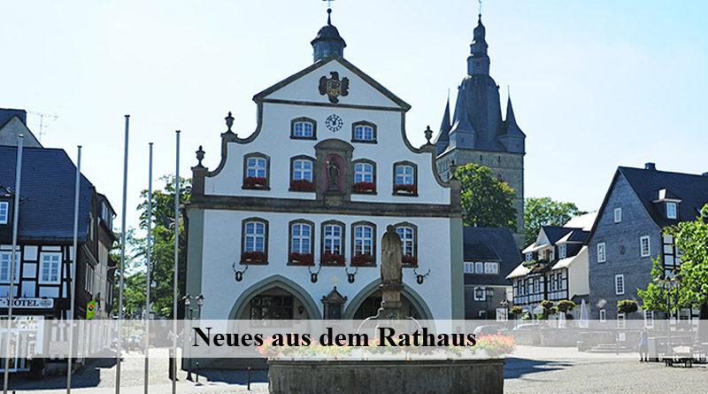 Briloner Rathaus News