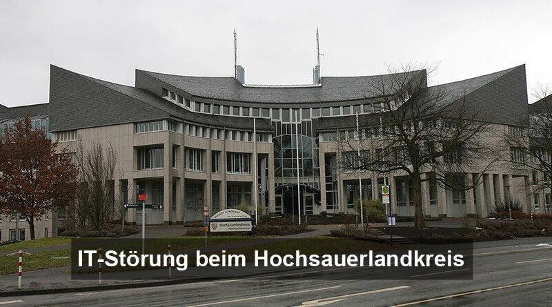 IT-Störung Kreishaus Meschede