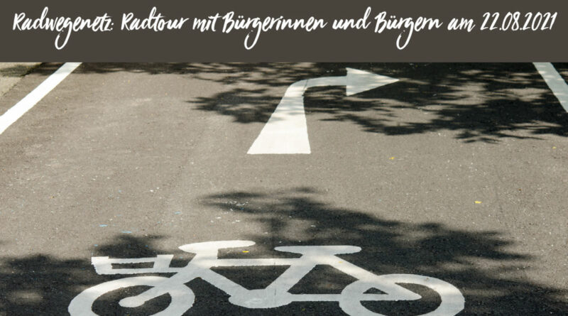 Radwegenetz Radtour