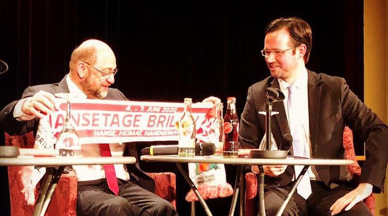 Dirk Wiese mit Martin Schultz
