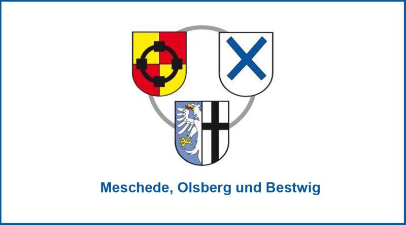 Meschede, Olsberg und Bestwig