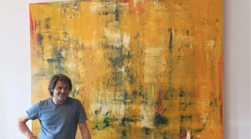 """Kunstausstellung """"ABSTRAKT"""" des Hallenberger Künstlers Thomas Pöllmann"""