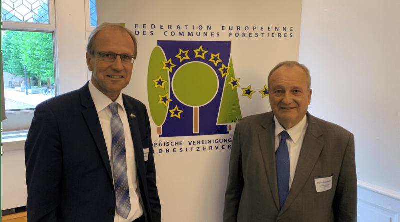 Alter und Neuer Präsident der FECOF