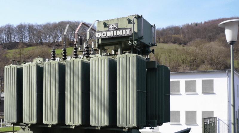 Dominit-Drehstromtransformator von 1964