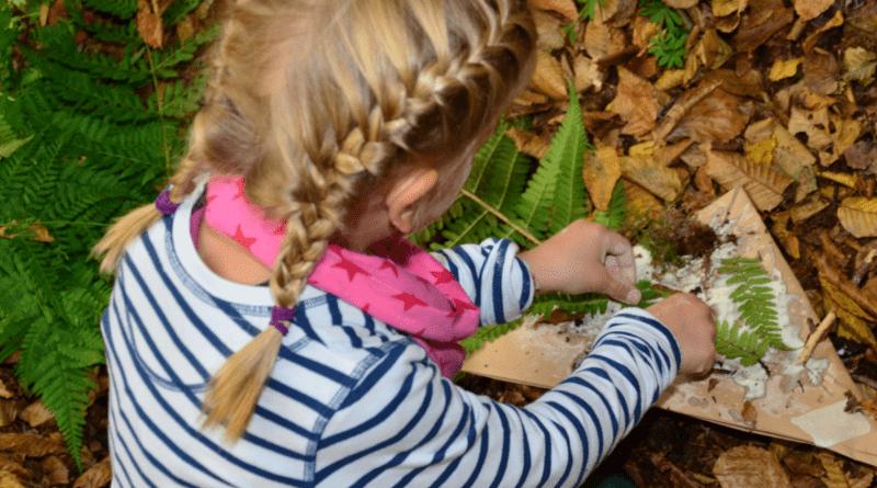 Herbsthut für Waldkünstler