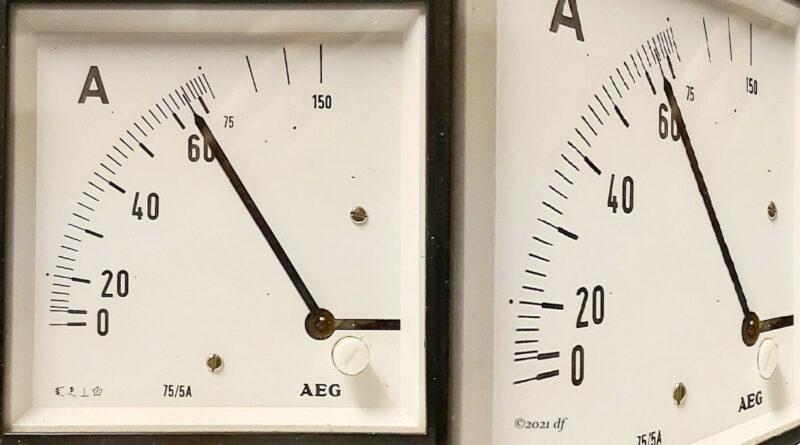 Stromstärkenmessgerät von 1968