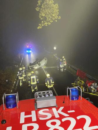 Tödlicher Verkehrsunfall in Olsberg